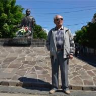 Mukacevo pomnik spisovatela knaza Alexanda Duchnovica