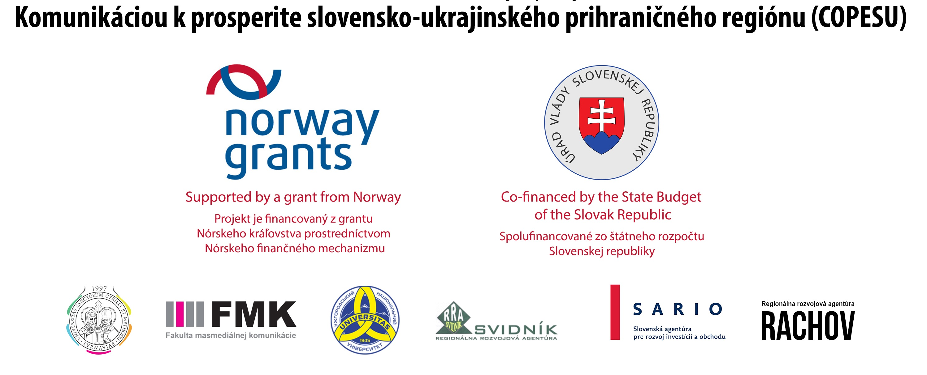 Universities of Transcarpathian region: a selection of sites